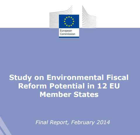 Study on Environmental Fiscal Reform Potential in 12 EU Member States